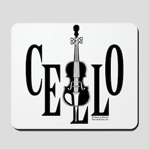 Cello In Cello Mousepad