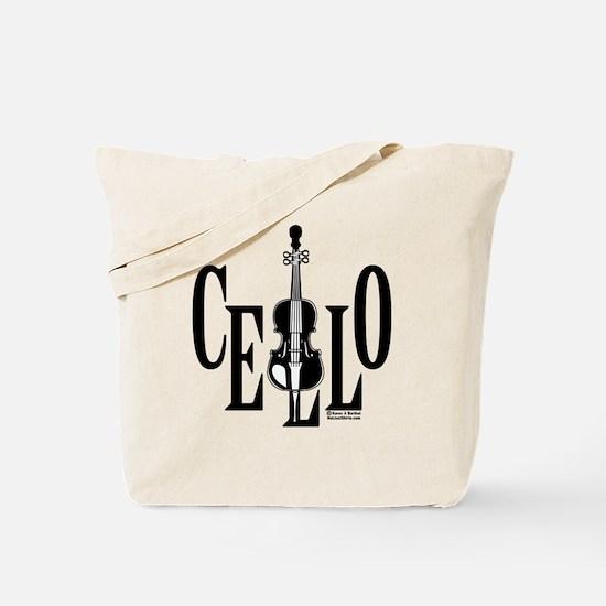 Cello In Cello Tote Bag