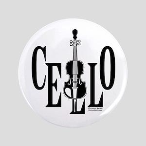 """Cello In Cello 3.5"""" Button"""