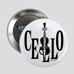 """Cello In Cello 2.25"""" Button"""