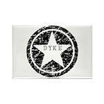 Dyke Star Rectangle Magnet