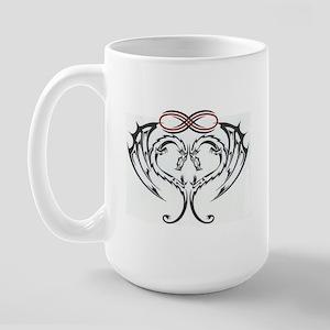 Large Eternal Dragon Heart Mug