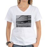 Hot Springs Women's V-Neck T-Shirt