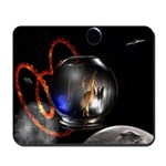 Fish Bowl In Space Mousepad