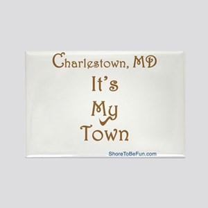 Charlestown MD It's My Town Rectangle Magnet