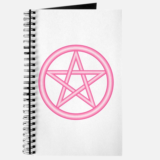Fairy Pink Pentagram Journal