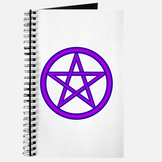 Wizard Purple Pentagram Journal