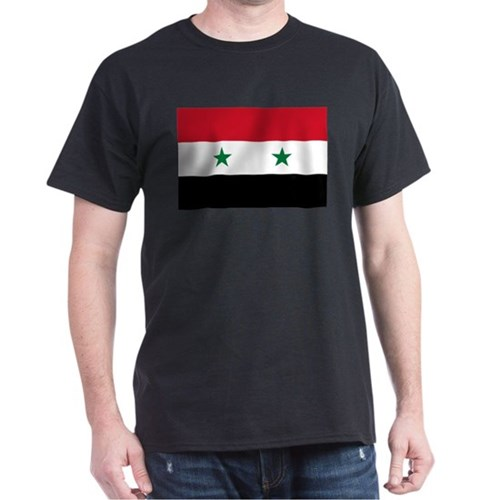 Syrian Flag - Hands Off Syria T-Shirt