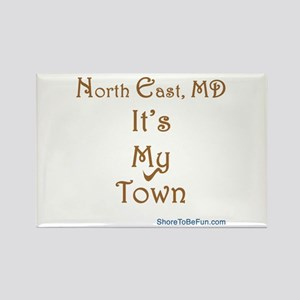 North East It's My Town Rectangle Magnet