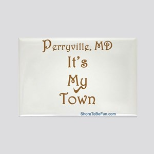 Perryville MD It's My Town Rectangle Magnet