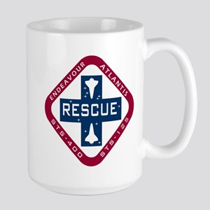 STS-400 Endeavour RESCUE! Large Mug