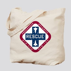 STS-400 Endeavour RESCUE! Tote Bag