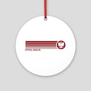 Polska Ornament (Round)