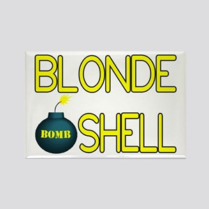 Bombshell Rectangle Magnet