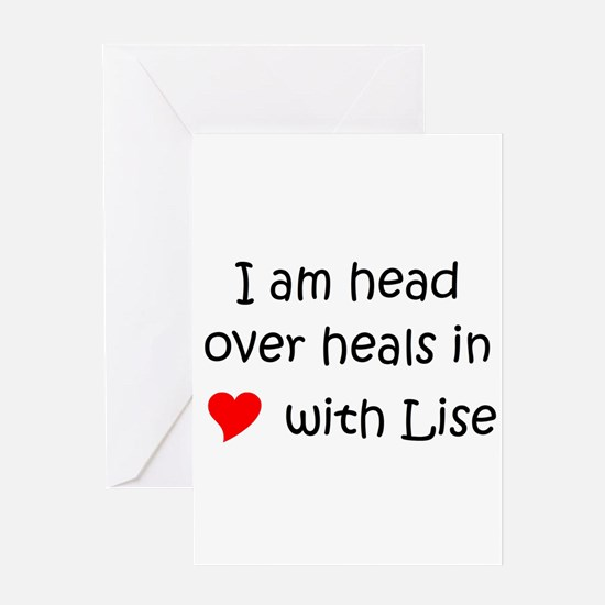 Lise Greeting Card