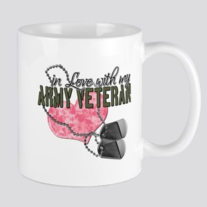 In Love with my Army Veteran Mug