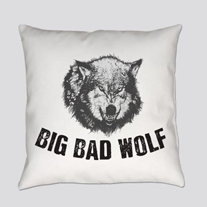 Big Bad Wolf Everyday Pillow