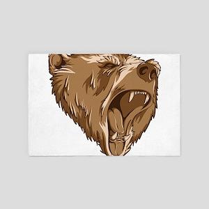 Roaring Bear 4' x 6' Rug