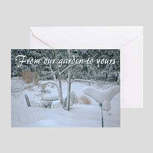 Christmas Greeting Greeting Card