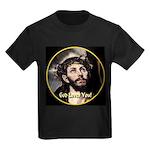 God Loves You! Kids Dark T-Shirt
