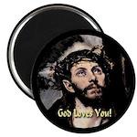 God Loves You! Magnet