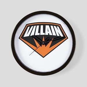 Villain Wall Clock