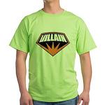 Villain Green T-Shirt