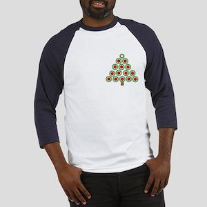 Mechanical Christmas Tree Baseball Jersey