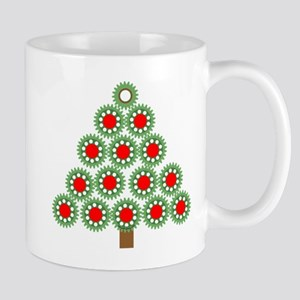 Mechanical Christmas Tree Mug