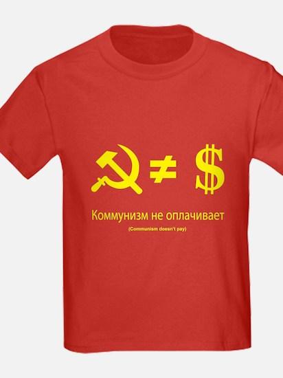 Communism Doen't Pay T