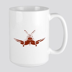 Red Corsair Large Mug