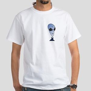 "Ally Galaxy ""Charles"" White T-Shirt"