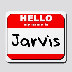 Hello my name is Jarvis Mousepad