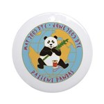 Patient Pandas Ornament