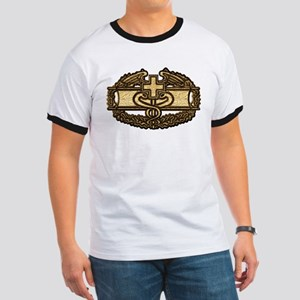 Combat Medic(gold) Women's Dark T-Shirt