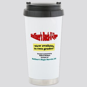 Mulliner's Buck-U-Uppo Stainless Steel Travel Mug
