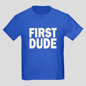 FIRST DUDE Kids Dark T-Shirt