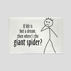 Giant Dream Spider Rectangle Magnet