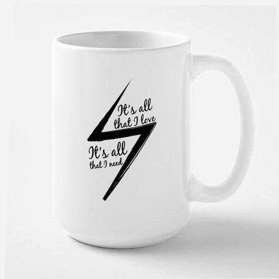 itsallthatilove-bw Mugs