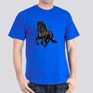 Black Stallion Horse Dark T-Shirt