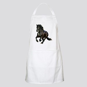 Black Stallion Horse BBQ Apron