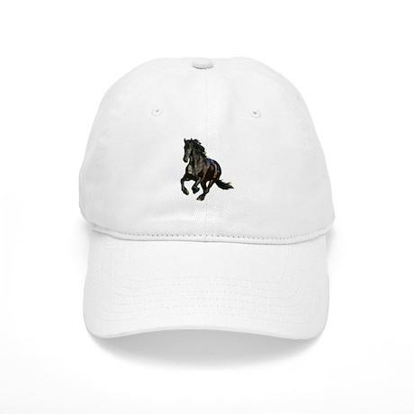 Black Stallion Horse Cap