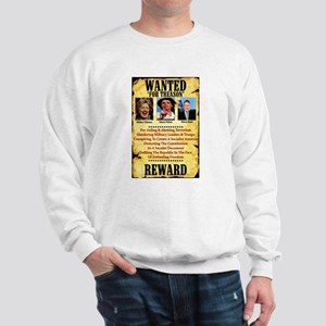 """Wanted For Treason"" Sweatshirt"