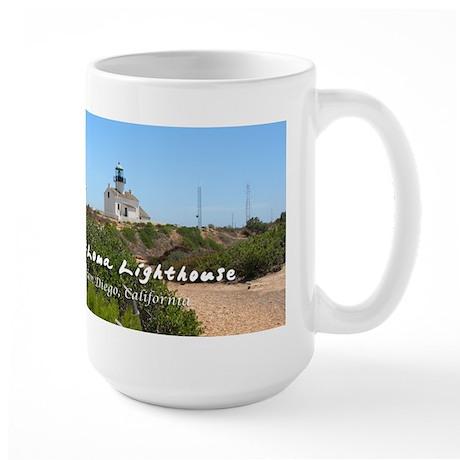 Old Point Loma Lighthouse Large Mug