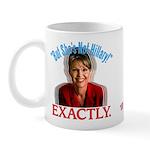 Sarah Palin Not Hillary Mug