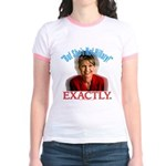 Sarah Palin Not Hillary Jr. Ringer T-Shirt