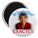 Sarah Palin Not Hillary Magnet