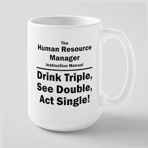 Human Resource Manager Large Mug
