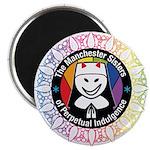Manchester Sisters Summer Logo (for Darker Magnets