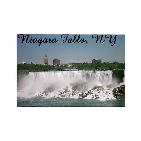 Niagara Falls,NY Rectangle Magnet